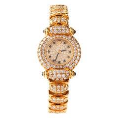 Audemars Piguet 1990s Ladies Diamonds Ref 83345 18 Karat Watch