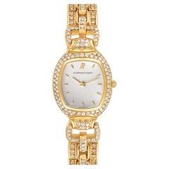 Audemars Piguet Audemarine Yellow Gold Diamond Ladies Watch 66474