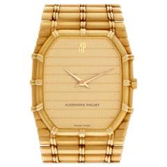 Audemars Piguet Bamboo 56205 18 Karat Quartz Watch