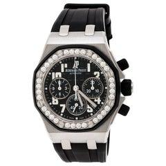 Audemars Piguet Black  26048SK.ZZ.D002CA.01 Women's Wristwatch 37 mm