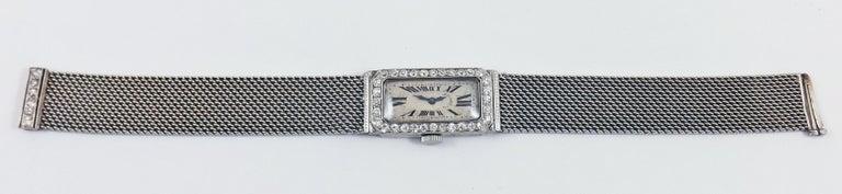 Audemars Piguet by J.E. Caldwell Ladies Platinum Diamond Manual Wristwatch For Sale 2