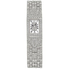 Audemars Piguet Charleston White Gold and Diamond Bracelet Watch
