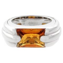 Audemars Piguet Citrine White Gold Ring