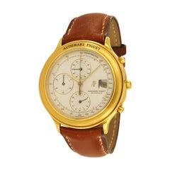 Audemars Piguet Classic 18 Karat Yellow Gold Watch, 1980s