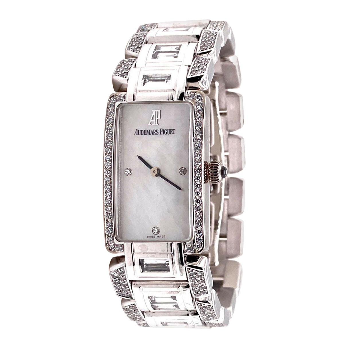 Audemars Piguet Classique 67525BC.ZZ.9163BC.01 18 Karat White Gold with Diamonds
