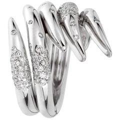 Audemars Piguet Diamond White Gold Cocktail Ring