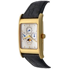 Audemars Piguet Edward Piguet Yellow Gold Perpetual Calendar Wristwatch