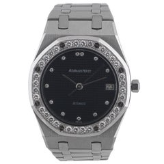 Audemars Piguet Genève Royal Oak Diamond Wristwatch