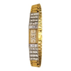 Audemars Piguet Gold Platinum Diamond Ladies Watch