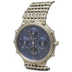 Audemars Piguet Quantieme Perpetual Calendar Moonphase Platinum Men's Watch