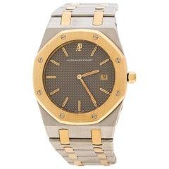Audemars Piguet Grey Stainless Steel and 18K Rose Gold  Women's Wristwatch 33 mm