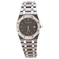 Audemars Piguet Grey Tantalum 56175TT.O.0789TT.01 Women's Wristwatch 33 mm