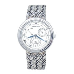 Audemars Piguet Jules Audemars Dual Time 18k White Gold Automatic Men's Watch