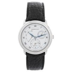 Audemars Piguet Jules Audemars Men's Platinum Power Reserve Dual Time Watch 2568