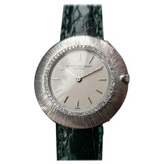 Audemars Piguet Ladies 18k White Gold Diamond Dress Watch, c.1970s Swiss LV497