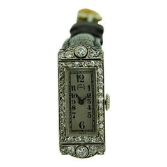 Audemars Piguet Ladies Platinum Art Deco Dress Watch, circa 1930s