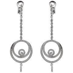 Audemars Piguet Millenary Diamond Drop Earrings