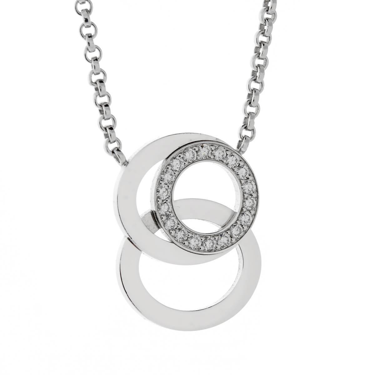 Audemars Piguet Millenary Diamond White Gold Necklace