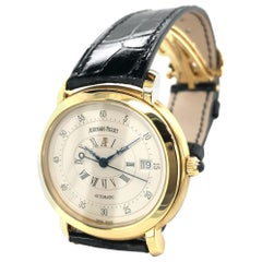 "Audemars Piguet ""Millenary"" in 18 Karat Yellow Gold Ref 14908"