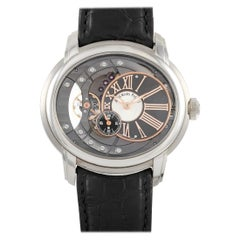 Audemars Piguet Millenary Skeleton Stainless Steel Watch 15350ST.OO.D002CR.01
