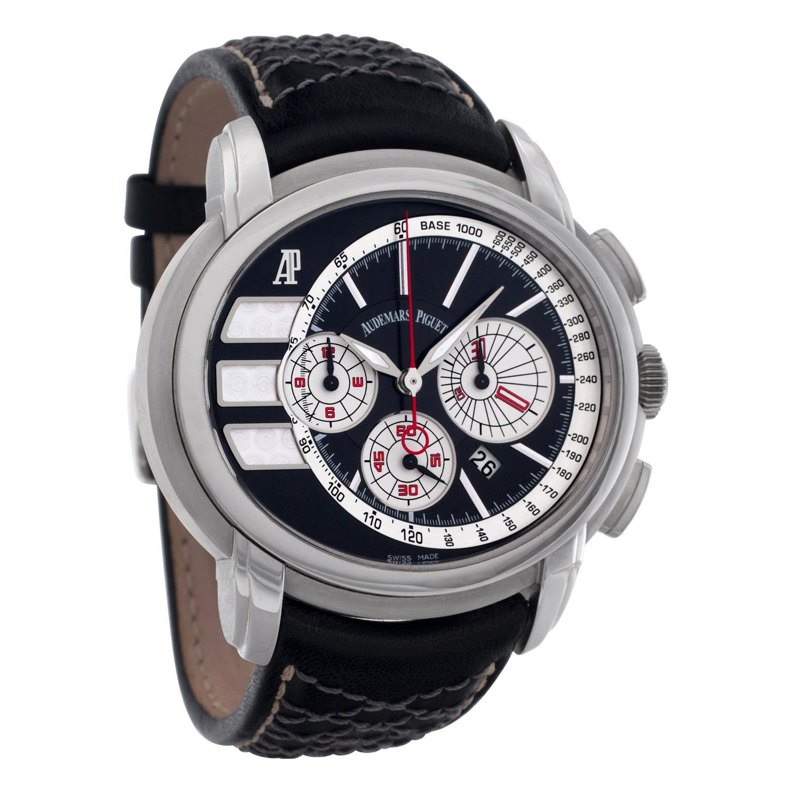 Audemars Piguet Millenary Tour Chrono Watch 26142ST.OO.D001VE.01