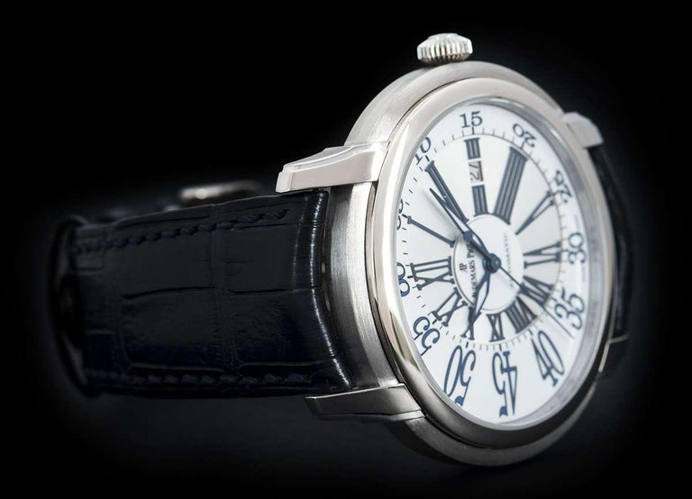 Audemars Piguet Millenary White Gold 15320BC.OO.D028CR.01 Automatic Wristwatch For Sale 1
