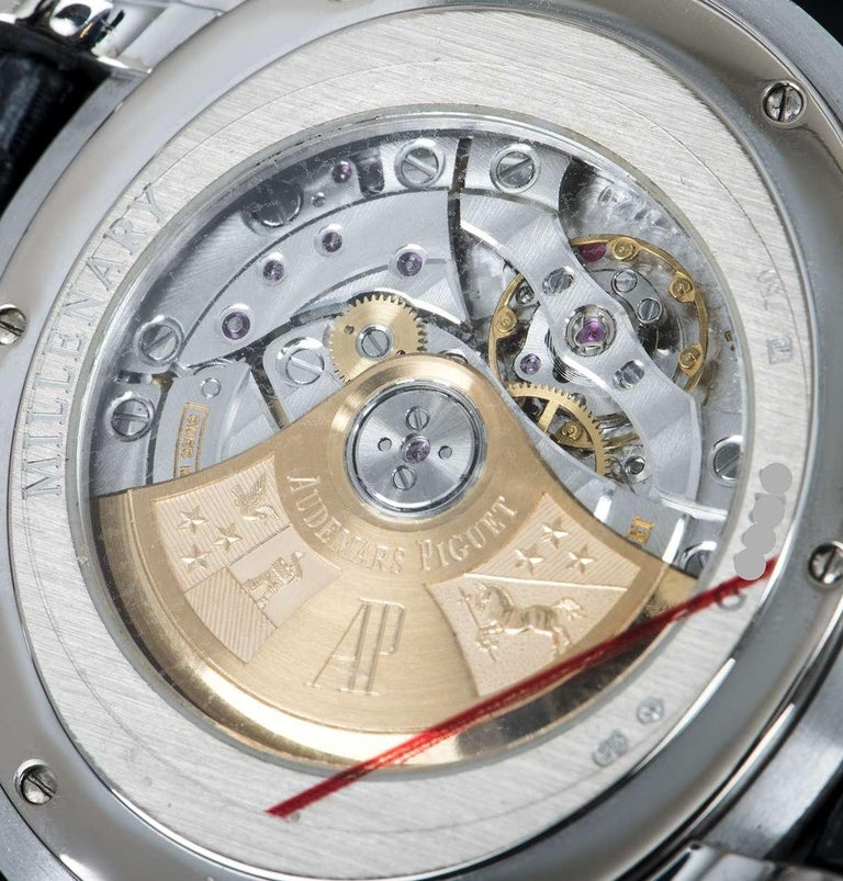 Audemars Piguet Millenary White Gold 15320BC.OO.D028CR.01 Automatic Wristwatch For Sale 3