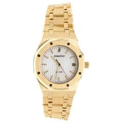 Audemars Piguet Octagonal Royal Oak 18 Karat Yellow Gold Watch