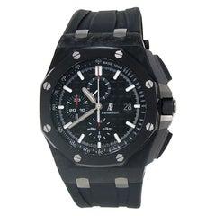 Audemars Piguet Offshore Black Carbon Fiber Automatic Watch 26400AU.OO.A002CA.01