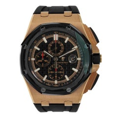 Audemars Piguet Offshore Chronograph Rose Gold Watch 26401RO.OO.A002CA.02