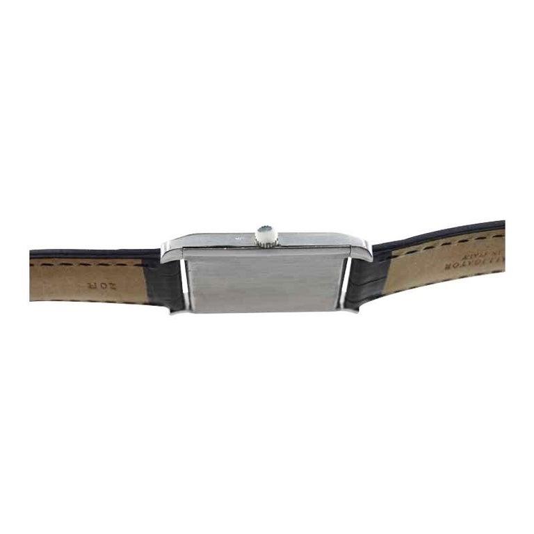 Audemars Piguet Platinum Handmade Art Deco Watch, circa 1930s For Sale 5