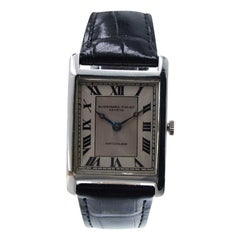 Audemars Piguet Platinum Handmade Art Deco Watch, circa 1930s
