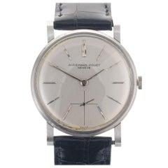 Audemars Piguet Platinum Manual Wind Wristwatch