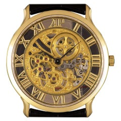Audemars Piguet Rare Skeleton Dial Yellow Gold B&P 14958 BA