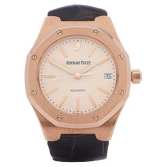 Audemars Piguet Royal Oak 0 14800R Men Rose Gold 18K Watch