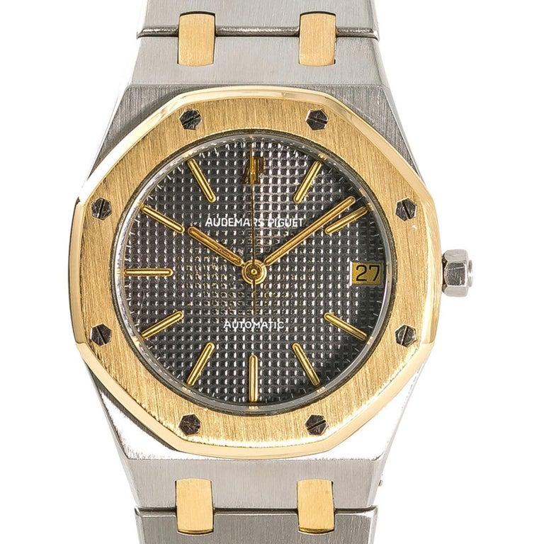 Audemars Piguet Royal Oak 14700sa Men S Automatic Watch 18 Karat Two Tone