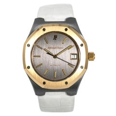 Audemars Piguet Royal Oak 14800TR.00 Automatic Watch Tantalum 18 Karat Rose Gold