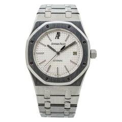 Audemars Piguet Royal Oak 15300ST White Dial Automatic Watch Box & Paper