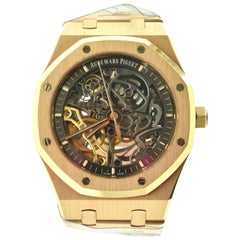Audemars Piguet Royal Oak 15407OR-OO-1220OR-01 Skeleton 18 Karat Gold Watch Thu