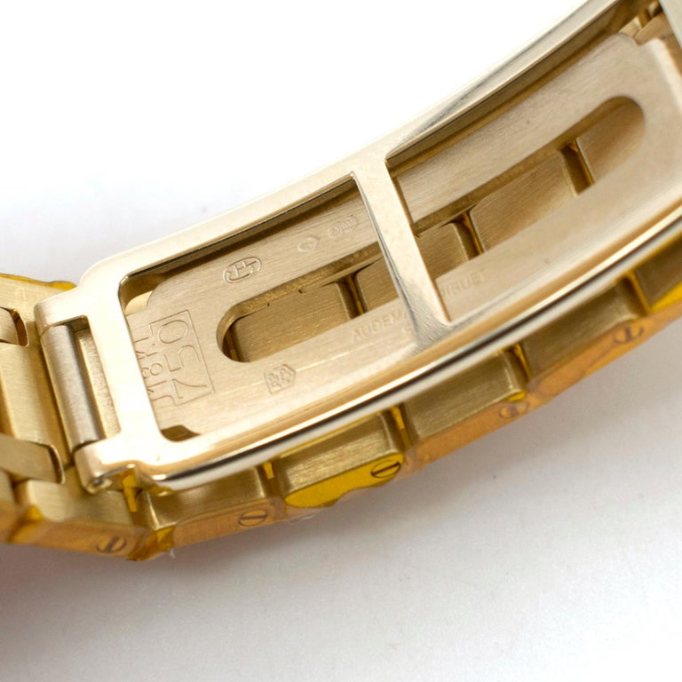 Audemars Piguet Royal Oak 18 Karat Gold Watch 6