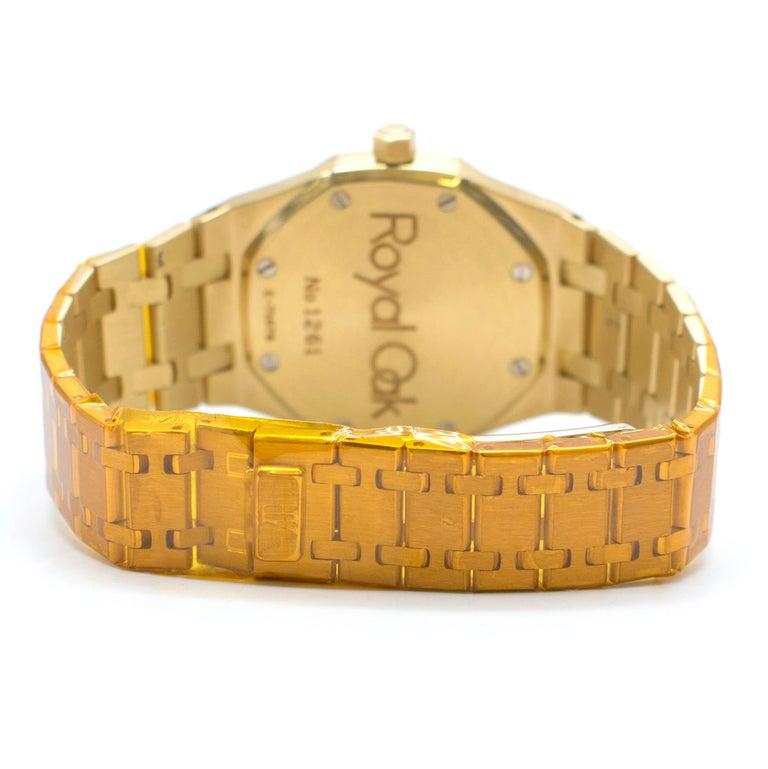 Audemars Piguet Royal Oak 18 Karat Gold Watch In Excellent Condition In London, GB