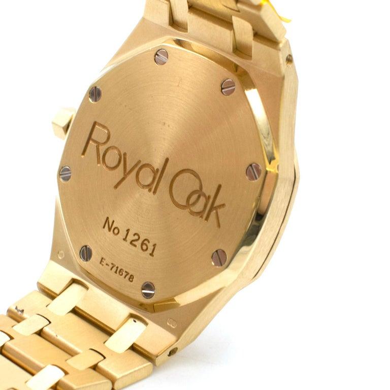 Audemars Piguet Royal Oak 18 Karat Gold Watch 2