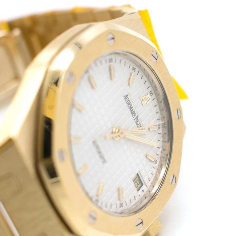 Audemars Piguet Royal Oak 18 Karat Gold Watch 3