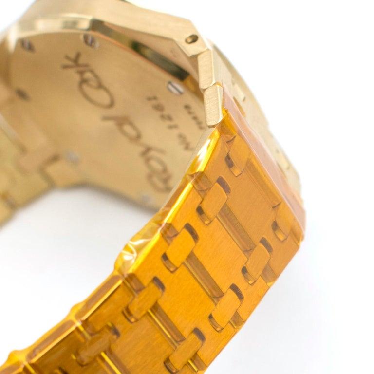 Audemars Piguet Royal Oak 18 Karat Gold Watch 5