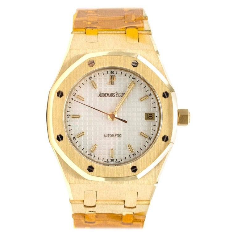 Audemars Piguet Royal Oak 18 Karat Gold Watch