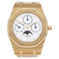 Audemars Piguet Royal Oak 25554BA Men's Yellow Gold Perpetual Calendar MKI Dial