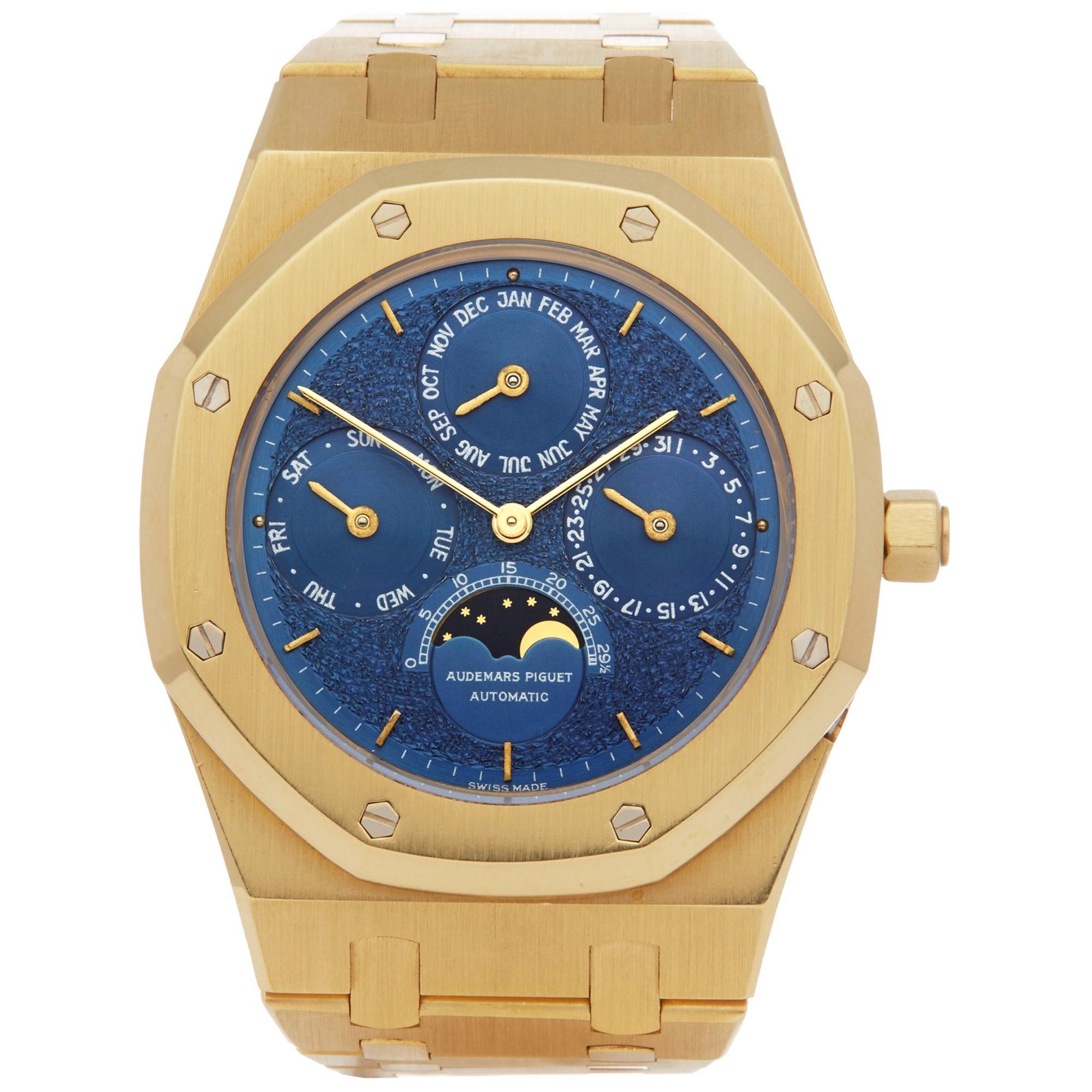Audemars Piguet Royal Oak 25654BA.OO.0944BA.02 Men's Yellow Gold Perpetual