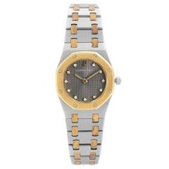 Audemars Piguet Royal Oak 18K Rose Gold Steel Quartz Ladies Watch SA 66270