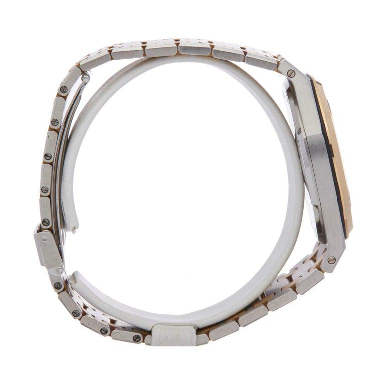 Women's or Men's Audemars Piguet Royal Oak 4100 Unisex Stainless Steel and Yellow Gold Watch