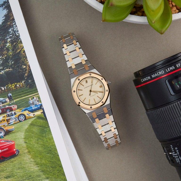 Audemars Piguet Royal Oak 4100 Unisex Stainless Steel and Yellow Gold Watch 3